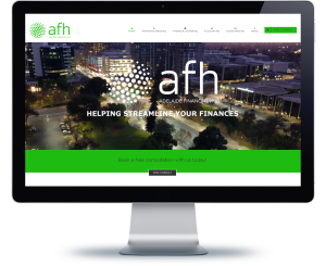 website design adelaide financial hub