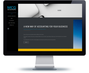 website design mcg accountants