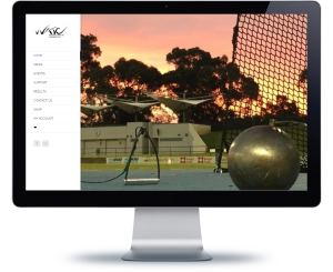 website design western australian throwers club